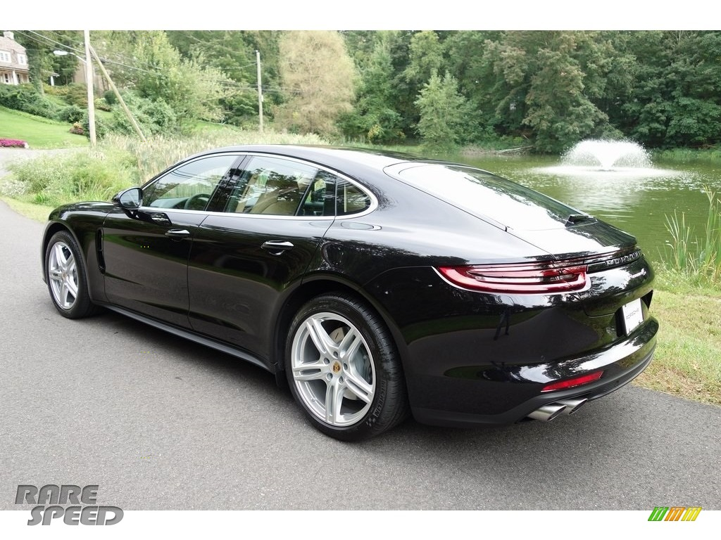 2018 Panamera 4S - Black / Black/Luxor Beige photo #6