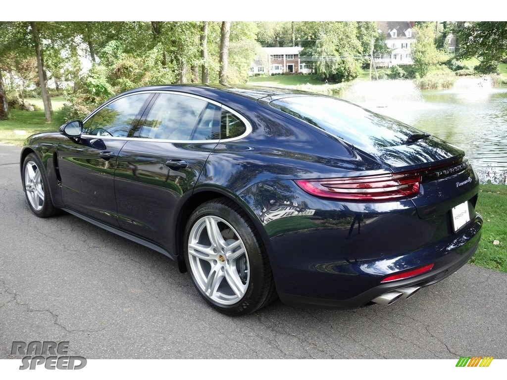 2018 Panamera 4S - Night Blue Metallic / Black/Luxor Beige photo #6