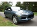 Porsche Cayenne  Biscay Blue Metallic photo #1