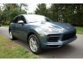 Porsche Cayenne  Biscay Blue Metallic photo #1