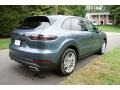 Porsche Cayenne  Biscay Blue Metallic photo #4