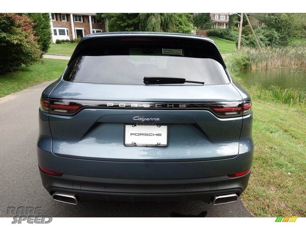 2019 Cayenne  - Biscay Blue Metallic / Black photo #5