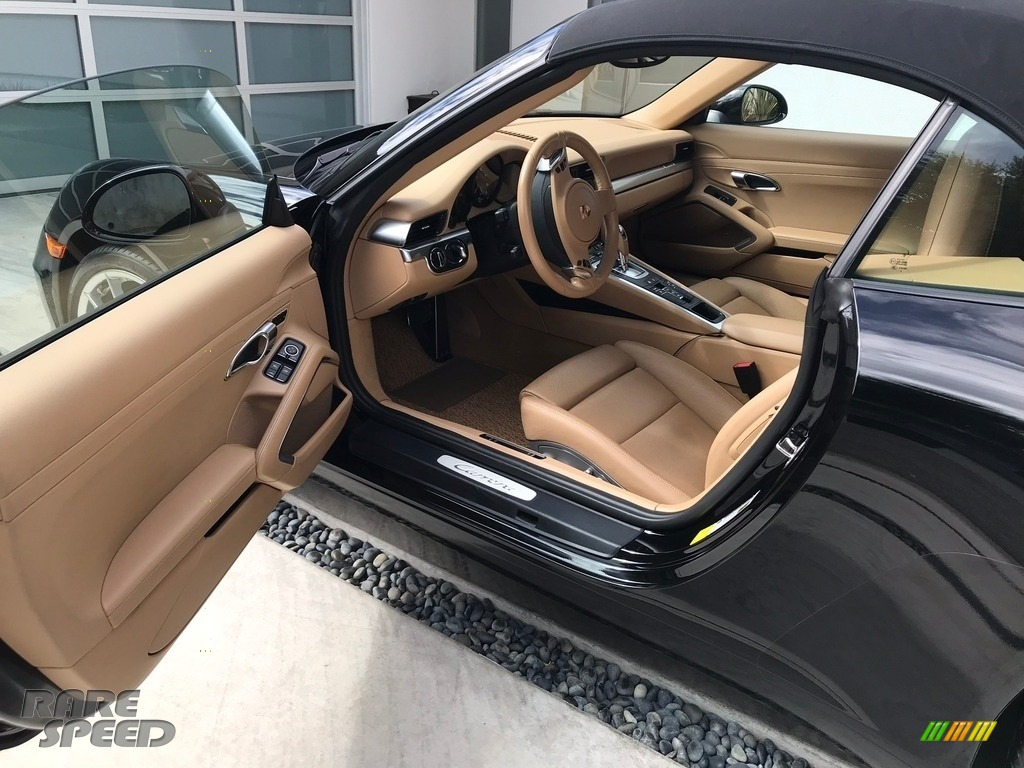 2015 911 Carrera Cabriolet - Black / Black/Luxor Beige photo #2