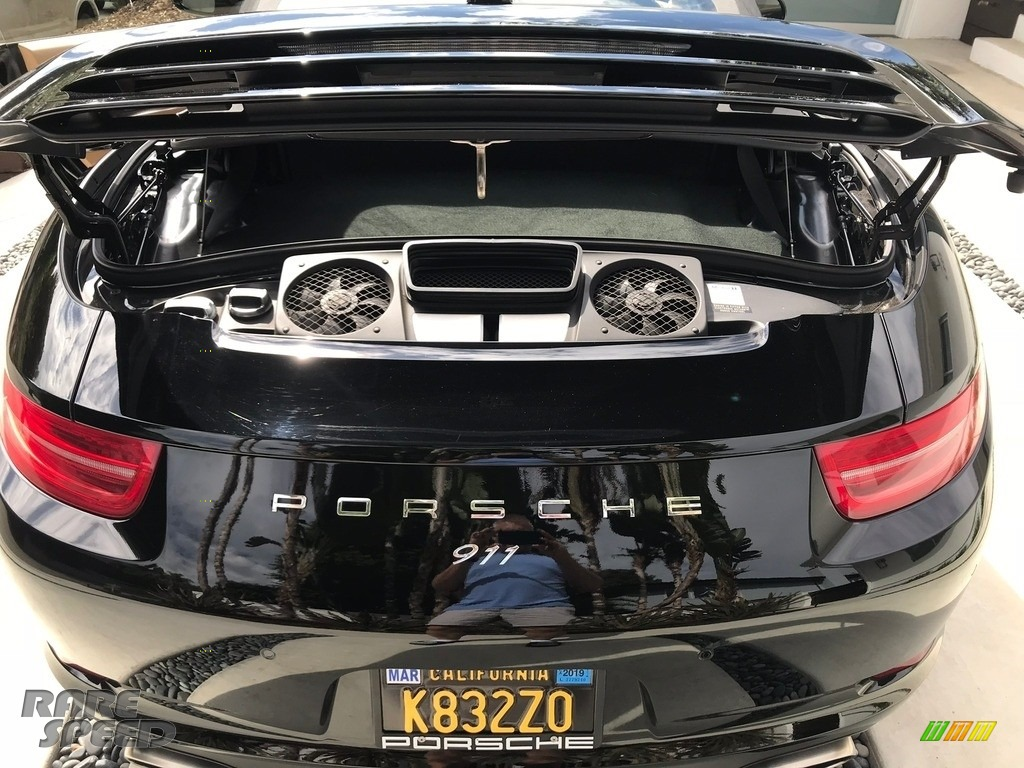 2015 911 Carrera Cabriolet - Black / Black/Luxor Beige photo #4