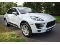 Porsche Macan  White photo #1