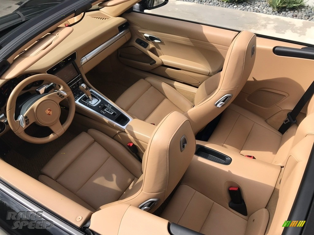 2015 911 Carrera Cabriolet - Black / Black/Luxor Beige photo #12