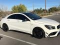 Mercedes-Benz CLA 45 AMG 4Matic Coupe Cirrus White photo #1