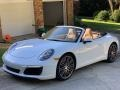Porsche 911 Carrera Cabriolet Carrara White Metallic photo #1