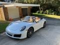 Porsche 911 Carrera Cabriolet Carrara White Metallic photo #21
