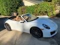 Porsche 911 Carrera Cabriolet Carrara White Metallic photo #24