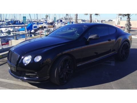 Black Crystal Metallic 2014 Bentley Continental GT Speed