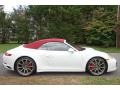 Porsche 911 Carrera 4S Cabriolet White photo #7