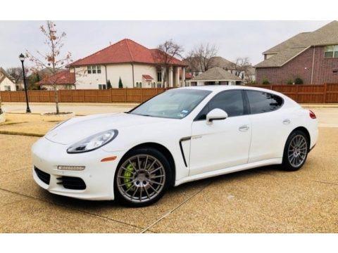 White 2014 Porsche Panamera S E-Hybrid