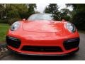 Porsche 911 Turbo S Coupe Lava Orange photo #10