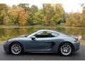 Porsche 718 Cayman  Graphite Blue Metallic photo #3