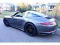 Porsche 911 Targa 4S Agate Grey Metallic photo #4
