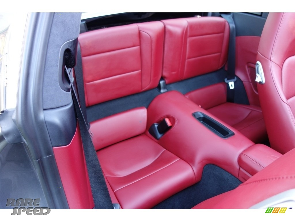 2017 911 Targa 4S - Agate Grey Metallic / Black/Bordeaux Red photo #18