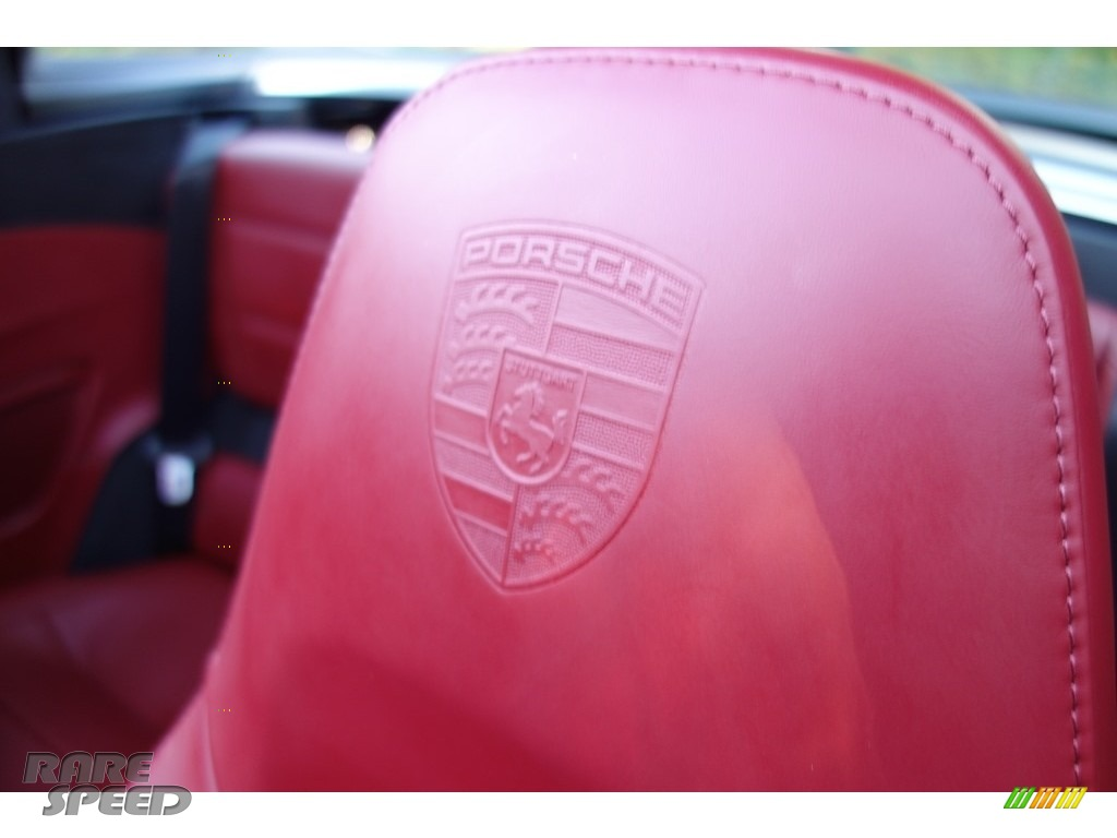 2017 911 Targa 4S - Agate Grey Metallic / Black/Bordeaux Red photo #20