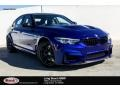 BMW M3 Sedan San Marino Blue Metallic photo #1