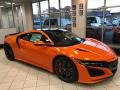 Acura NSX  Thermal Orange Pearl photo #1
