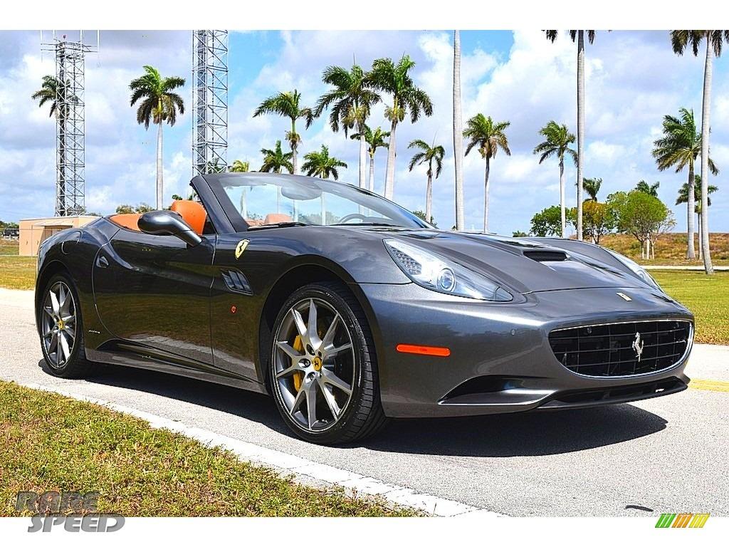 Grigio Silverstone (Dark Gray Metallic) / Cuoio (Beige) Ferrari California