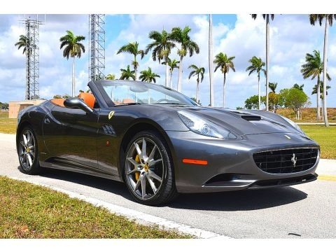 Grigio Silverstone (Dark Gray Metallic) 2012 Ferrari California