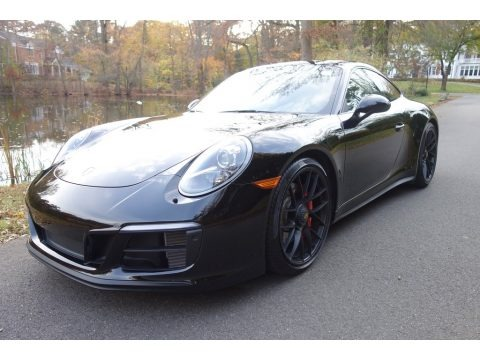 Black 2018 Porsche 911 GTS Coupe