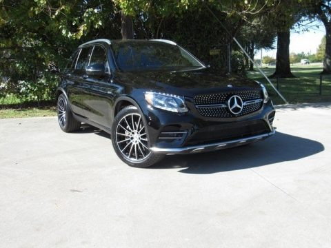 Black 2017 Mercedes-Benz GLC 43 AMG 4Matic