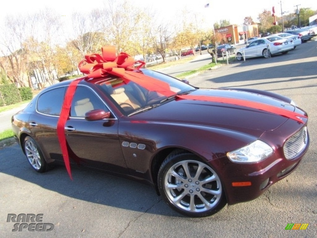 2007 Quattroporte Executive GT - Bordeaux Pontevecchio (Dark Red Metallic) / Cuoio photo #1