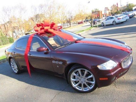 Bordeaux Pontevecchio (Dark Red Metallic) 2007 Maserati Quattroporte Executive GT