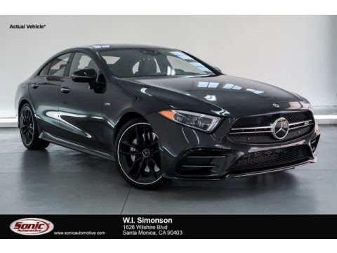 Graphite Grey Metallic 2019 Mercedes-Benz CLS AMG 53 4Matic Coupe