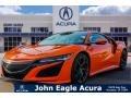 Acura NSX  Thermal Orange Pearl photo #1