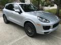 Porsche Cayenne Platinum Edition Rhodium Silver Metallic photo #3