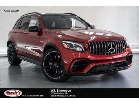designo Cardinal Red Metallic 2019 Mercedes-Benz GLC AMG 63 4Matic