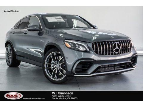 Selenite Grey Metallic 2019 Mercedes-Benz GLC AMG 63 4Matic