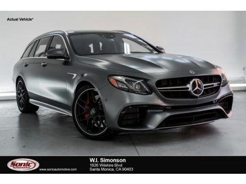 designo Selenite Grey Magno (Matte) 2019 Mercedes-Benz E AMG 63 S 4Matic Wagon