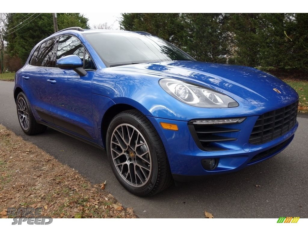 2018 Macan Sport Edition - Sapphire Blue Metallic / Black photo #1