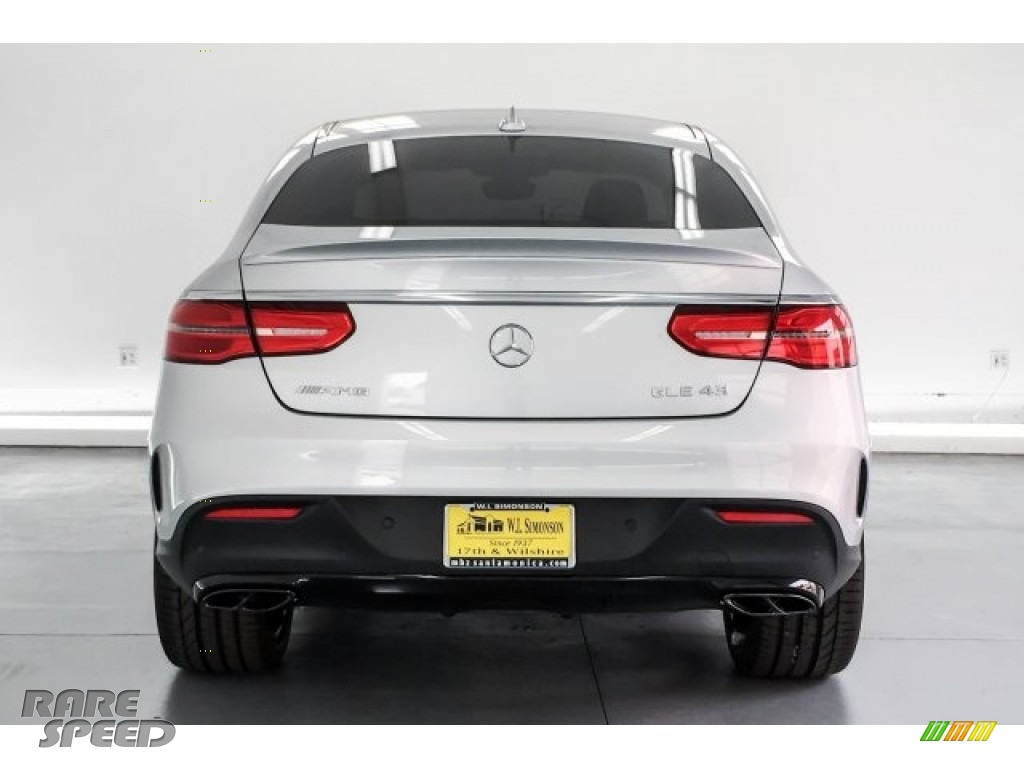 2019 GLE 43 AMG 4Matic Coupe - Iridium Silver Metallic / Black photo #3