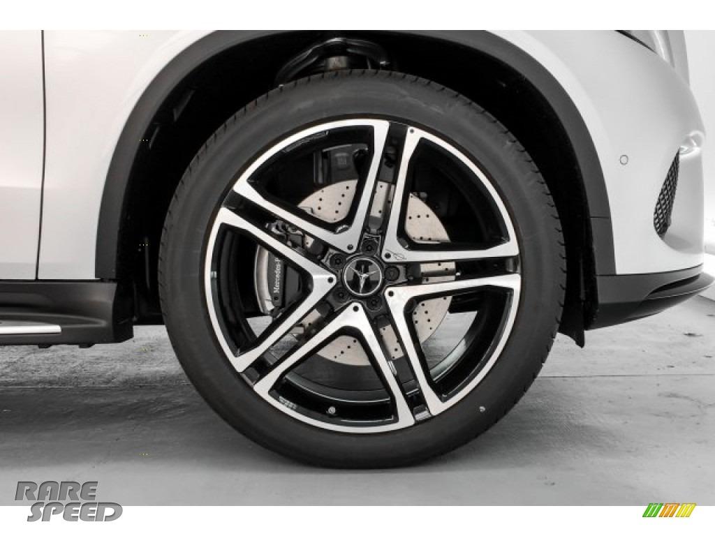 2019 GLE 43 AMG 4Matic Coupe - Iridium Silver Metallic / Black photo #9