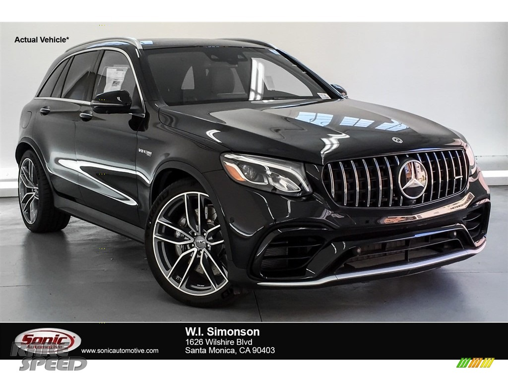 Obsidian Black Metallic / Black/Red Pepper Mercedes-Benz GLC AMG 63 4Matic