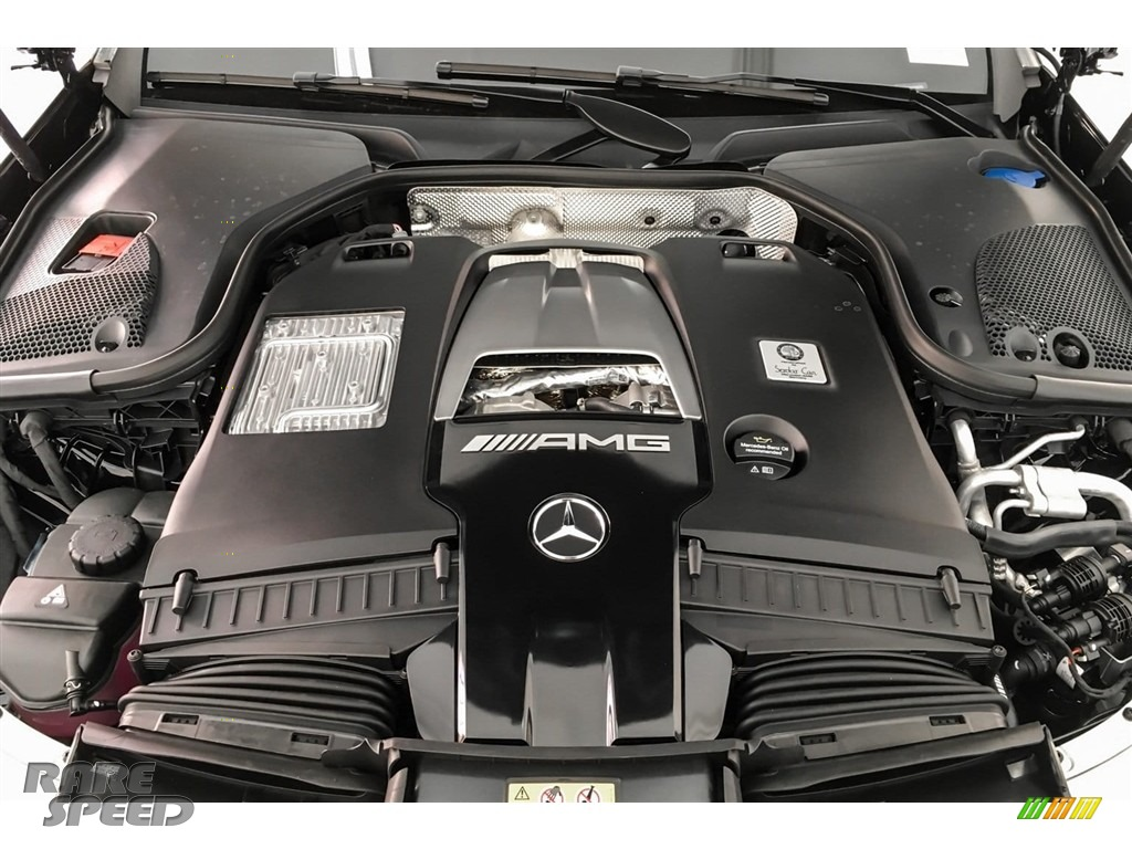 2019 E AMG 63 S 4Matic Sedan - Black / Black photo #8