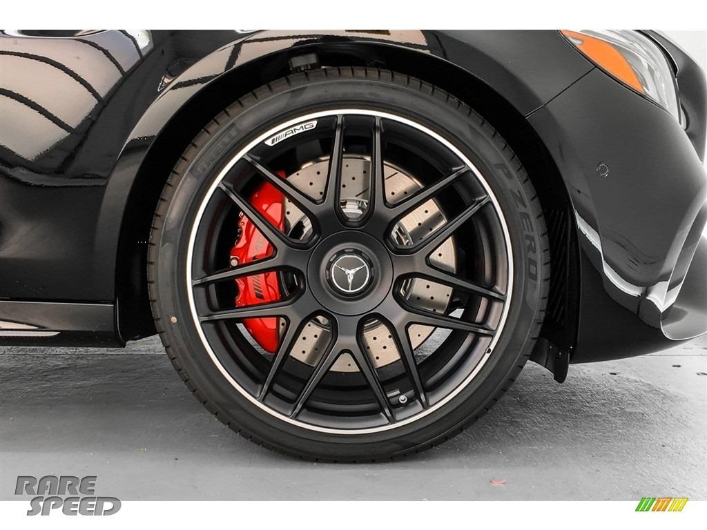 2019 E AMG 63 S 4Matic Sedan - Black / Black photo #9