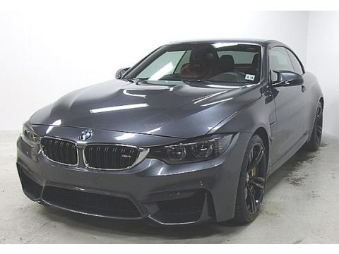 Mineral Grey Metallic 2015 BMW M4 Convertible