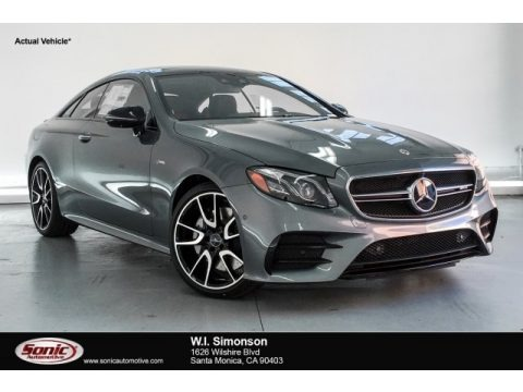 Selenite Grey Metallic 2019 Mercedes-Benz E 53 AMG 4Matic Coupe