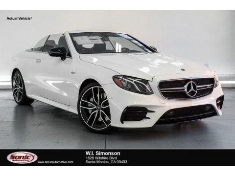 Polar White 2019 Mercedes-Benz E 53 AMG 4Matic Cabriolet