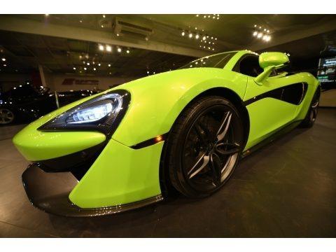 Napier Green 2017 McLaren 570S Coupe