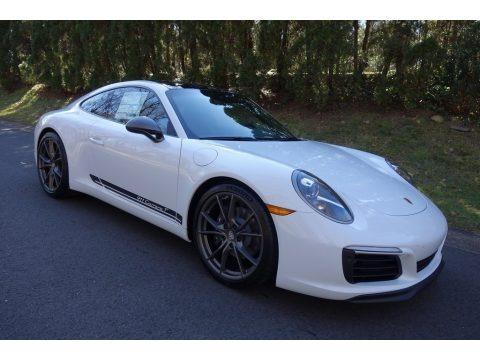 White 2019 Porsche 911 Carrera T Coupe