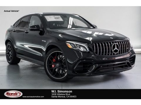 Obsidian Black Metallic 2019 Mercedes-Benz GLC AMG 63 S 4Matic Coupe
