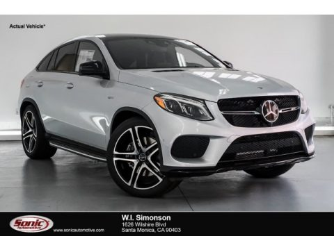 Iridium Silver Metallic 2019 Mercedes-Benz GLE 43 AMG 4Matic Coupe