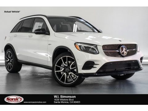 Polar White 2019 Mercedes-Benz GLC AMG 43 4Matic